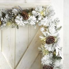 As one of the most versatile decorations in your arsenal, garland brings holiday magic to mantels, banisters, headboards, tables and porch frames (to name a few). Ours was inspired by a winter wonderland, crafted exclusively for Pier 1 with natural pinecones, faux greenery and a light dusting of snow. Plus, it boasts single-color, continuous-light LEDs throughout. Like we said, magic.
