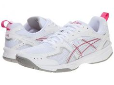 ASICS GEL-Acclaim (White/Charcoal/Pink) Women's Running Shoes