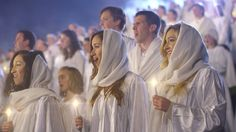 """The Piano Guys, Peter Hollens, David Archuleta, and The Mormon Tabernacle Choir get together to sing """"Angels We Have Heard On High"""" Watch the #sharethegift v..."""