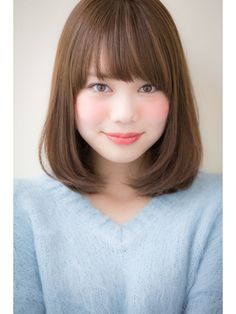 Japanese Short Hair, Japanese Hairstyle, Lob Hairstyle, Bun Hairstyles, Best Long Haircuts, Medium Hair Styles, Short Hair Styles, Brown Hair Shades, Shoulder Length Hair