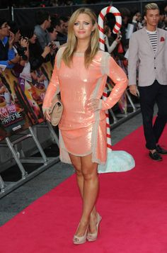 """Hayley McQueen at """"Katy Perry: Part of Me"""" UK premiere..."""