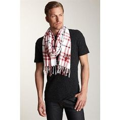 Sportin' Scarves Chicago Bulls White/Red NBA Fringed Scarf