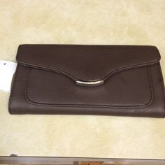 Brand new with tags brown wallet