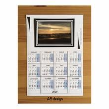 Seascape A5 A6 Magnetic Calendar In 2020 Magnetic Calendar Calendar Landscape Calendar