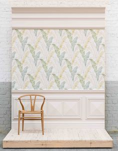 This room set illustrates how you can use panelling in your interior. Traditional wood panelling was used in the 18th century as insulation and also to hide and protect damaged walls ~ it was easier to paint too! Here we can see our lightweight panelling used below the dado rail along with pretty wallpaper, deep skirting and bold cornicing. Our products work together, so don't feel daunted about ordering! Browse our online shop here: Cornicing, Dado Rail, Wall Panelling, Pretty Wallpapers, Easy Paintings, Interior Walls, Room Set, Insulation, 18th Century