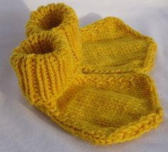 Baby Socks Duck Style 6 to 12 Month Size by lightningknits on Etsy, $15.00