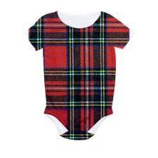 Royal Stewart Tartan All Over Print Bodysuit