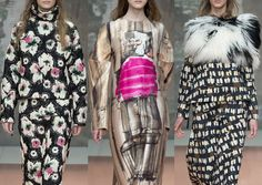 Milan Fashion Week – Autumn/Winter 2014/2015 – Print Highlights – Part 2 catwalks