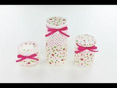 Decoupage jars - Decoupage tutorial - DIY - YouTube