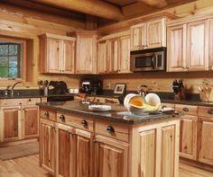 392 Best Log Cabin Kitchens Images On Pinterest In 2018 Log Cabin