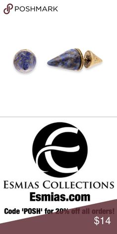 """Stone Spike Stud Earrings by Steve Madden Sold by Esmias.com. Cool yet bold, these earrings boast wild spiky studs. They offer an edgy finishing touch to any look!  Stone Spike Stud Earring Measurements: 0.75""""  Made & Designed by Steve Madden. Imported. Steve Madden Jewelry Earrings"""