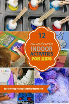 Awesome Indoor Activities for Kids