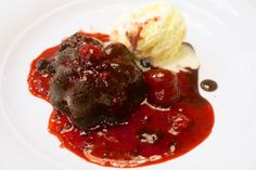 Chocolate Decadence, Main Dining Room, Pride of America, Norwegian Cruise Line ~ From Under the Toque: Pride of America Culinary Review   Popular Cruising (Image Copyright © Jason Leppert)