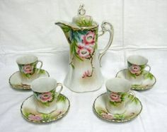 Hand-painted Nippon Chocolate Set - Bing Images