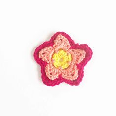Another free Flower Pattern | Annemarie's Haakblog