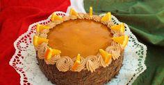 A torta ötlete a Tortaimádó blogról .van. Hozzávalók : 6 tojás, 15 dkg cukor, 12 dkg liszt, 1 evőkanál olaj, csipetnyi só; a tor... Cheesecake, Muffin, Lunch, Cookies, Breakfast, Sweet, Food, Diet, Caramel