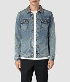Hommes Kilmory Denim Jacket (Indigo Blue) -