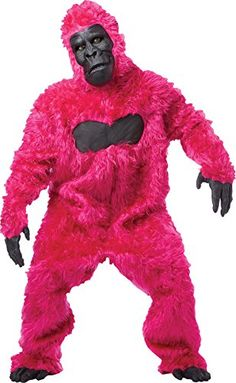 UHC Gorilla Jumpsuit Furry Animal Jungle Party Adult Halloween Costume, OS ** You can find more details at