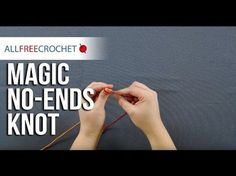 Crochet Tutorial: How to Join Yarn with No Weaving - YouTube