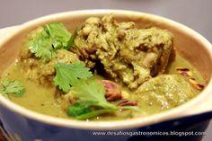 Desafios Gastronômicos: DESAFIO: Preparar a receita de Frango ao Curry Verde Aromático do Jamie Oliver!