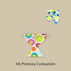 Vettoriale: MI PRIMERA COMUNION