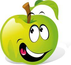 Cartoon Apple