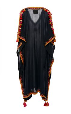 Elettra Tassel Kaftan by FIGUE for Preorder on Moda Operandi