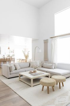 Interior Design Living Room, Modern Living Room Designs, Modern Minimalist Living Room, Modern Living Room Decor, White House Interior, Minimalist Home Interior, Nordic Living Room, Modern Apartment Decor, Living Room Neutral