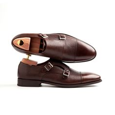 LAMANTIA   beatnikshoes.com - Monk Strap shoes handmade in Spain. Made of genuine brown leather. Total comfort. Shipping worldwide.Free EU delivery. 149,9 €