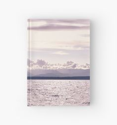 Soft hue overlooking the Puget Sound and the Olympic Mountains as the sunsets. • Also buy this artwork on stationery, apparel, stickers, and more.