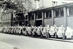 COOP bakkerij aan de Smyrnastraat 1950-60?