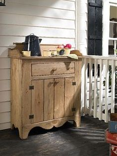 Classic farmhouse furnishings such as the Wine Safe, Dry Sink Cabinet, Refractory Table, and Ladder Back Chairs are what make the Vintage Pine Collection a truly multi-generational set