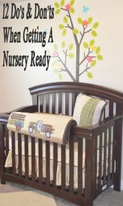 12 do's and don'ts of decorating a nursery