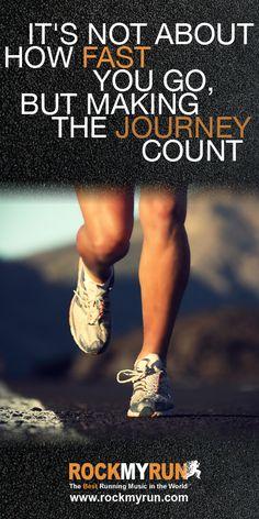 Make it count!  #running #motivation #inspiration www.rockmyrun.com