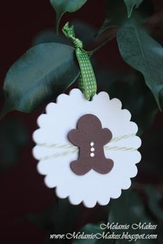 Melanie Makes: Children's Ornament Series, Part Four - Scalloped Gingerbread Man