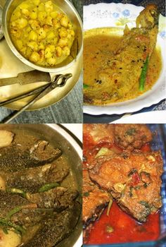 """Different types of Bengali Fish. More on the blog post about """"Authentic Bengali Cuisine"""". #Bengali #Fish"""