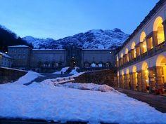 #Oropa #Mountain #Montagna #neve #snow #Alpi #Alps #MadonnaNera #BlackMadonna #inverno #winter