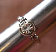 More Wire Wrapped Ring Tutorials - The Beading Gem's Journal love it! must try! #ecrafty