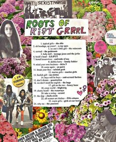 a riot grrrl playlist that will make you inspired