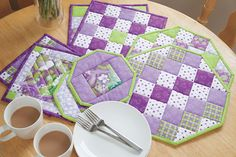 Additional Images of Trivet Set Kit by Ann Johnson - ConnectingThreads.com