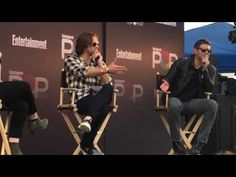 Supernatural Trivia with Jared Padalecki and Jensen Ackles at EW Popfest. - YouTube