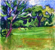 Landscape, 1899 Edvard Munch