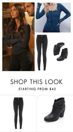 """Megan Fox Real Items as Reagan in New Girl"" by carla-turner-bastet ❤ liked on Polyvore featuring Parisian, rag & bone and meganfox"