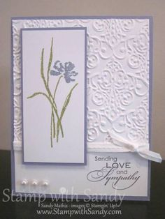 Love and Sympathy for The Paper Players by stampwithsandy - Cards and Paper Crafts at Splitcoaststampers