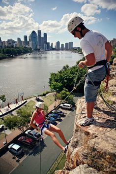 This is something I use to do when I lived in the area. Brisbane Cbd, Brisbane Queensland, Queensland Australia, Outdoor Adventures, Climbers, Rock Climbing, Places To See, Countries, Travel Photography