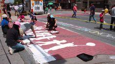 Place-Making Initiative: Crosswalk Painting