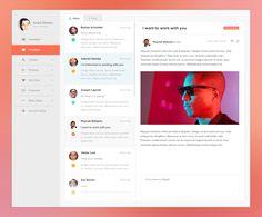 Dribbble - E-mail-Messages-Fullpixels.png by André Oliveira