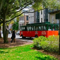 Old Town Trolley! The hop on-hop off option (with 16 stops) is a great way to experience all that Savannah has to offer. If walking all over the historic district is not your thing, get a two-day trolley pass. Well worth it!, Savannah Ga.....