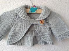 Crochentando cida: casaco de crochê para menino com gola