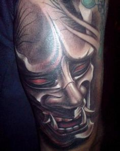 hannya mask tattoos 2013